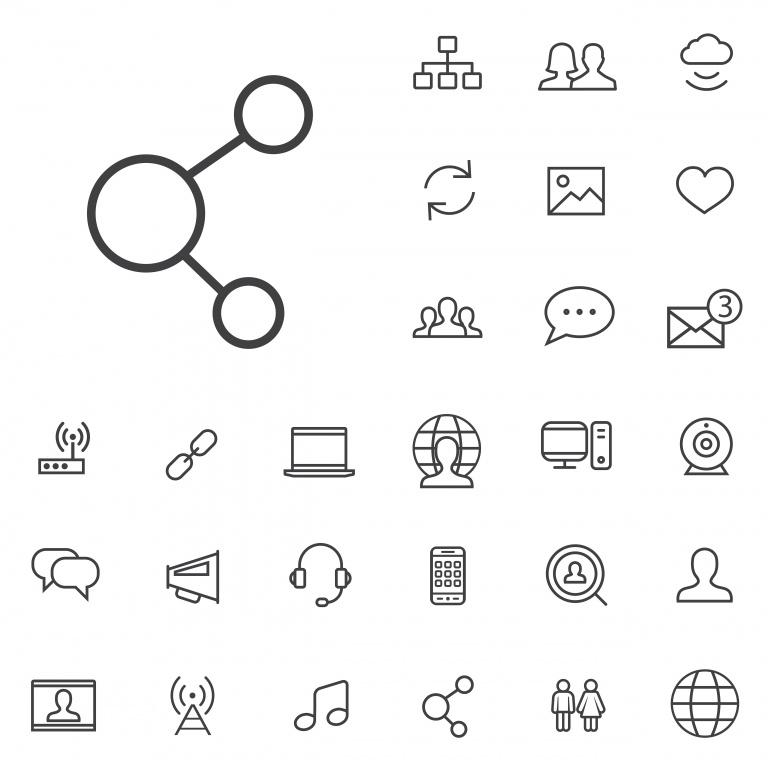 icones social media reseaux sociaux_6