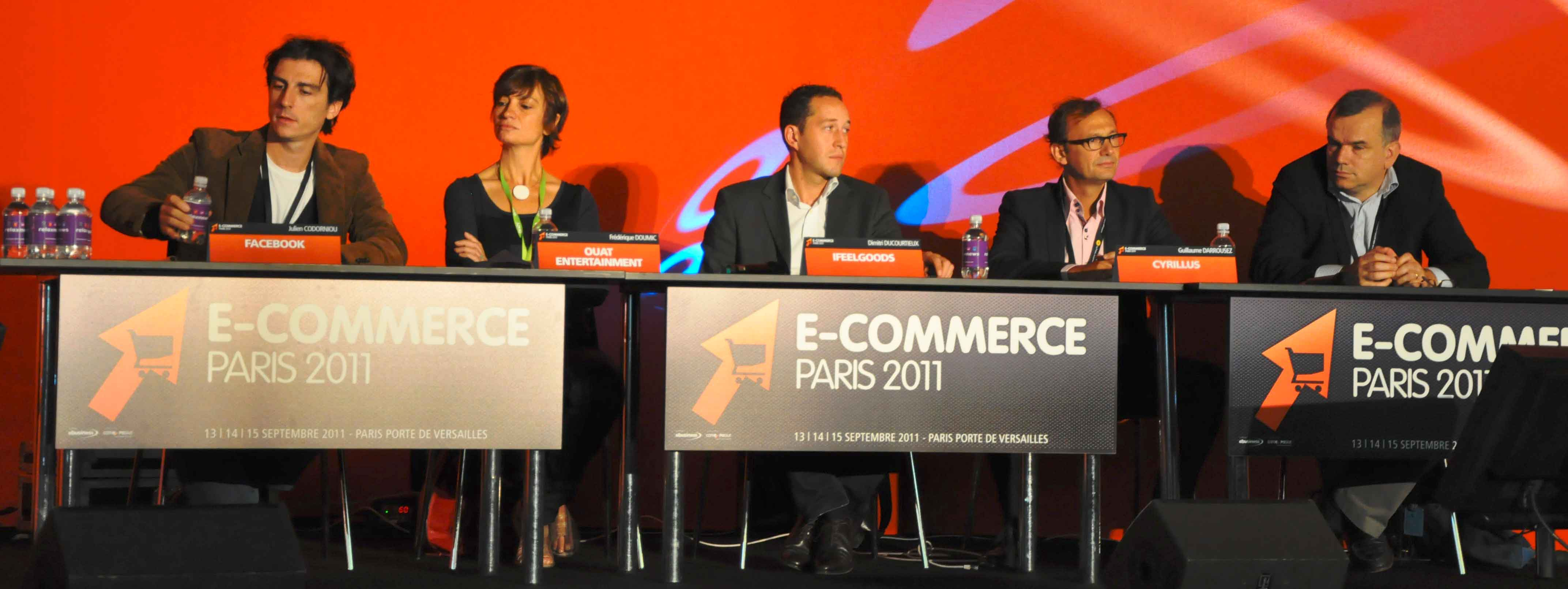 Salon E commerce 2011 npcmedia webchronique stephane peres Facebook : publicité et e commerce