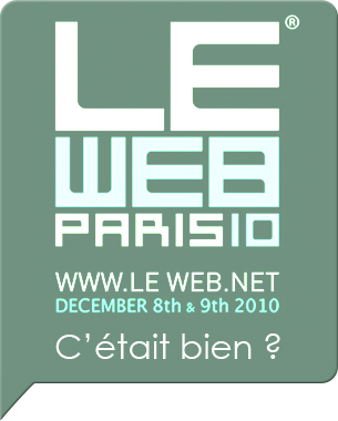 LeWeb'10(7ème édition) : La Silicon Valley débarque en France