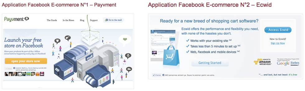 fcommerce ecommerce facebook social shopping 1   webchronique Facebook : publicité et e commerce