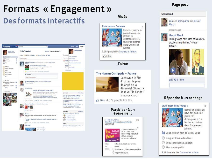 Facebook publicités format engagement   webchronique Créer une publicité Facebook