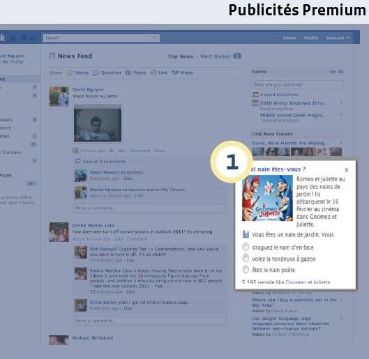 Facebook publicités premium   webchronique Créer une publicité Facebook