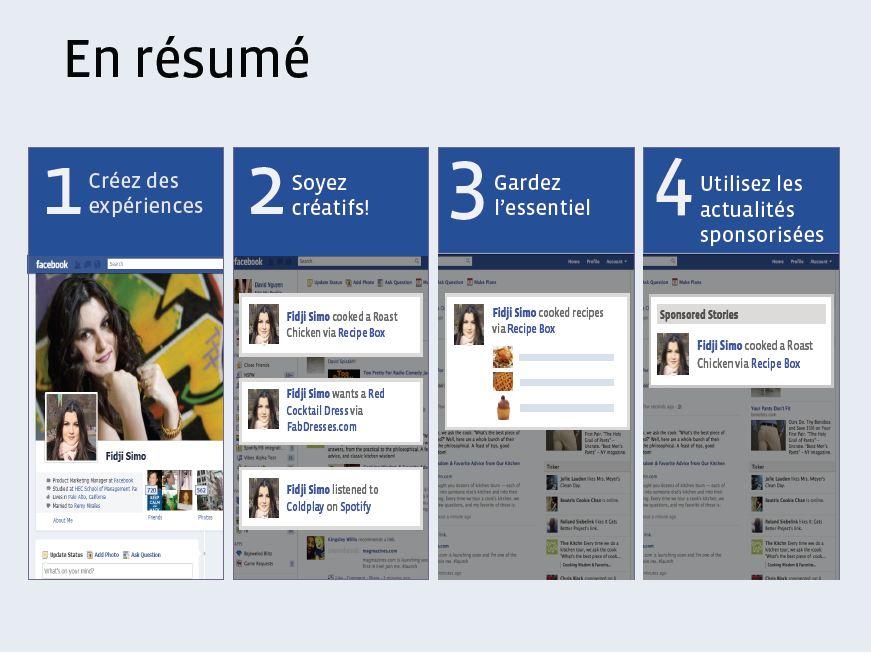 Facebook publicités résumé   webchronique Créer une publicité Facebook