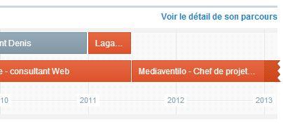 Viadeo - nouvelle timeline - webchronique