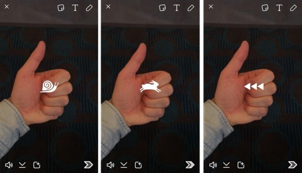 7 snaps vidéo - webchronique