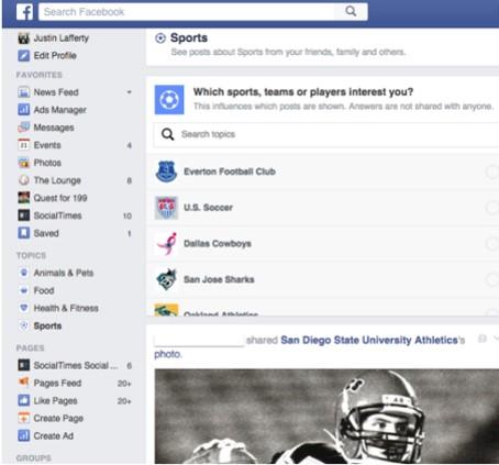 2 facebook newsfeed - webchronique