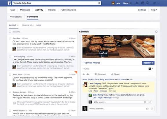 4 commentaires facebook onglet - webchronique
