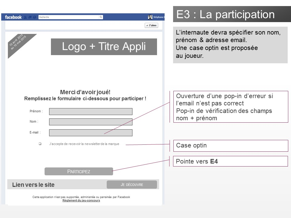 Application jeu-concours Facebook - img n°(3) - npcmedia