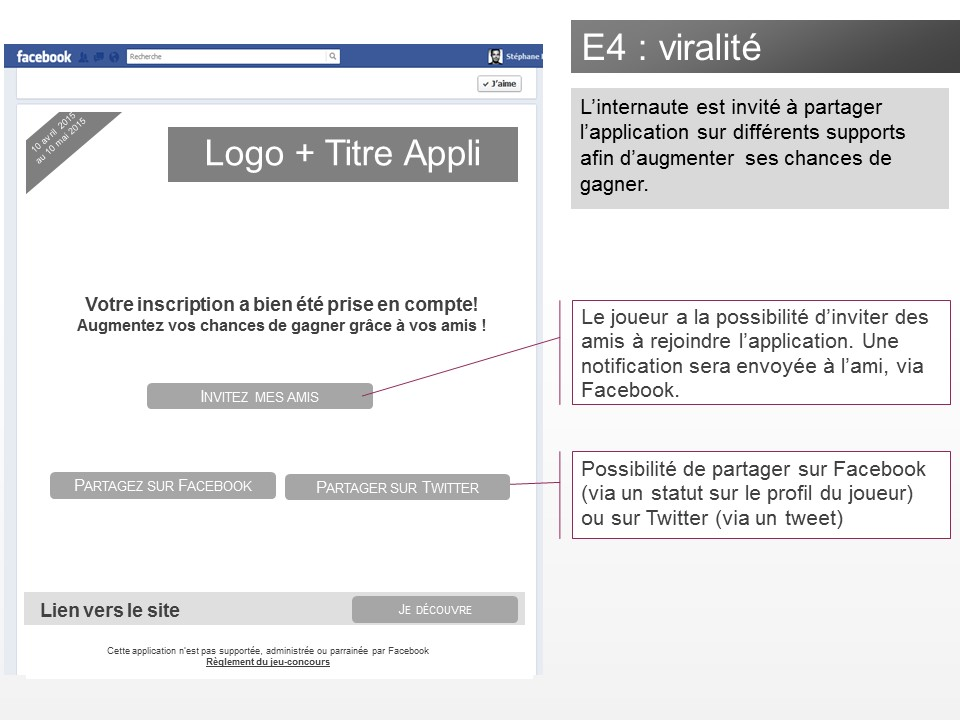Application jeu-concours Facebook - img n°(4) - npcmedia