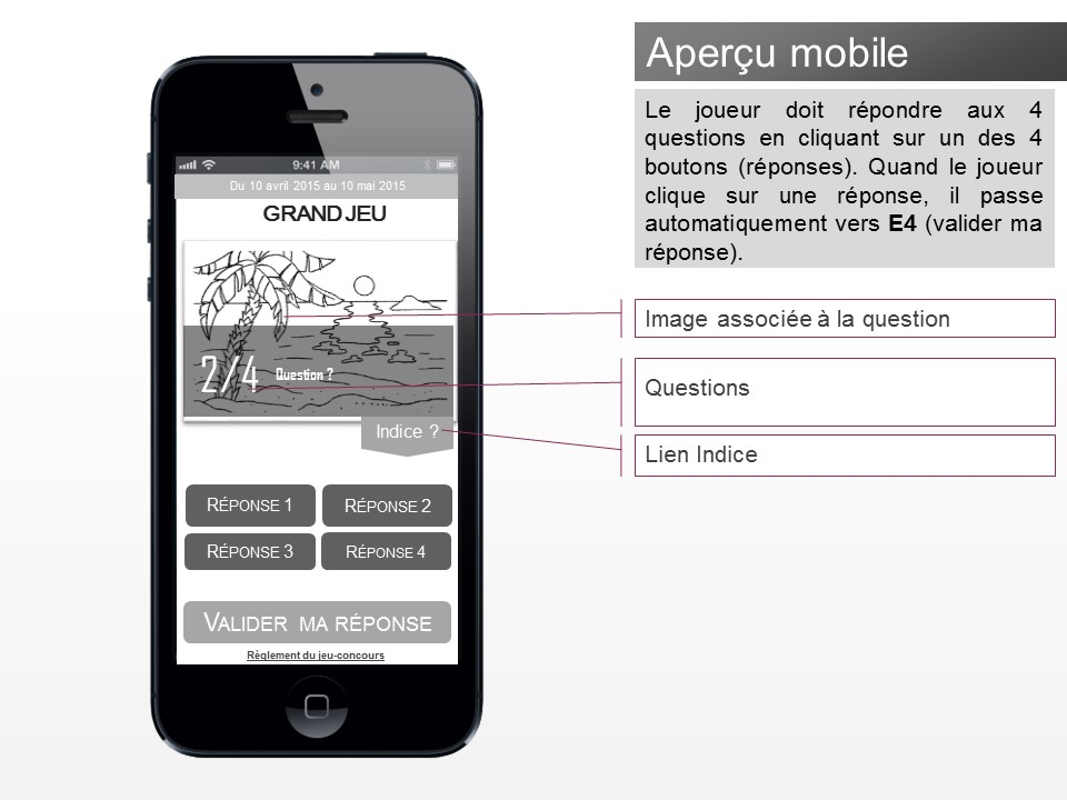 Application jeu-concours Facebook - img n°(5) - npcmedia