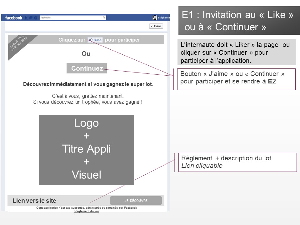 Application jeu-concours Facebook - img n°(6) - npcmedia