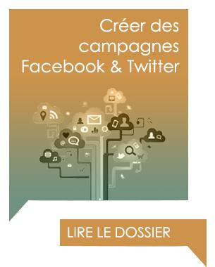 Créer des publicités Facebook et Twitter, présentation des formats publicitaires.
