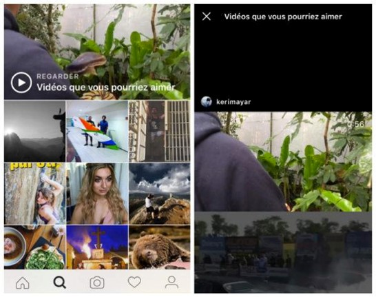 2 videos instagram - webchronique