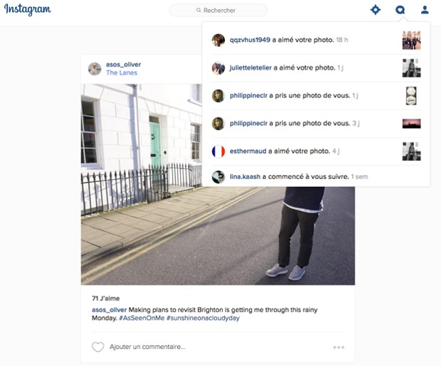 4 Instagram desktop - webchronique