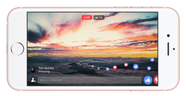 5 stream Facebook live - webchronique