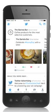 9 publicité carrousel twitter - webchronique