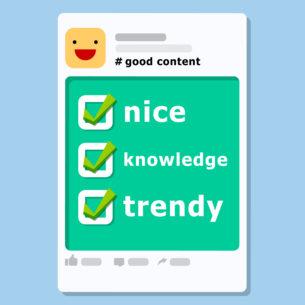 Produire des visuels social media demande une certaine expertises afin d'optimiser le messages. Voici quelques conseils pratiques pour faire de vos statuts Facebook, un véritable lien de communication avec votre cible  Lire la suite ...