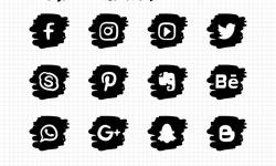 icones social media reseaux sociaux_19