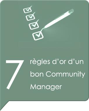 Le rôle et les missions d'un Community manager évolue, mais les méthodes restent, voici un petit palmarès des sept règles d'or d'un bon Community manager  Lire la suite ...