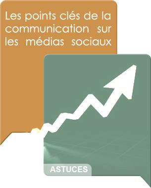 Pour mieux progresser dans le Social Media, voici une liste de points clés de la communication sur les réseaux sociaux.  Lire la suite ...